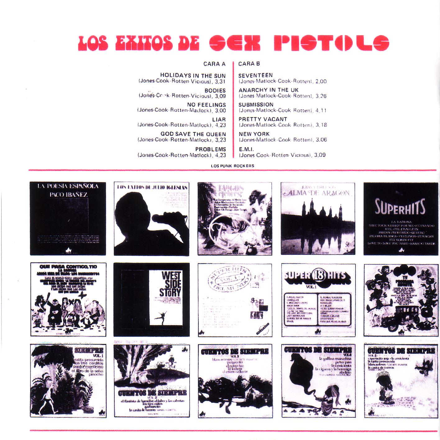 of a Spanish Sex Pistols
