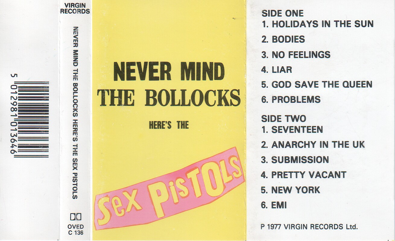 Phrase... Never mind the bollocks heres the sex pistols congratulate, this