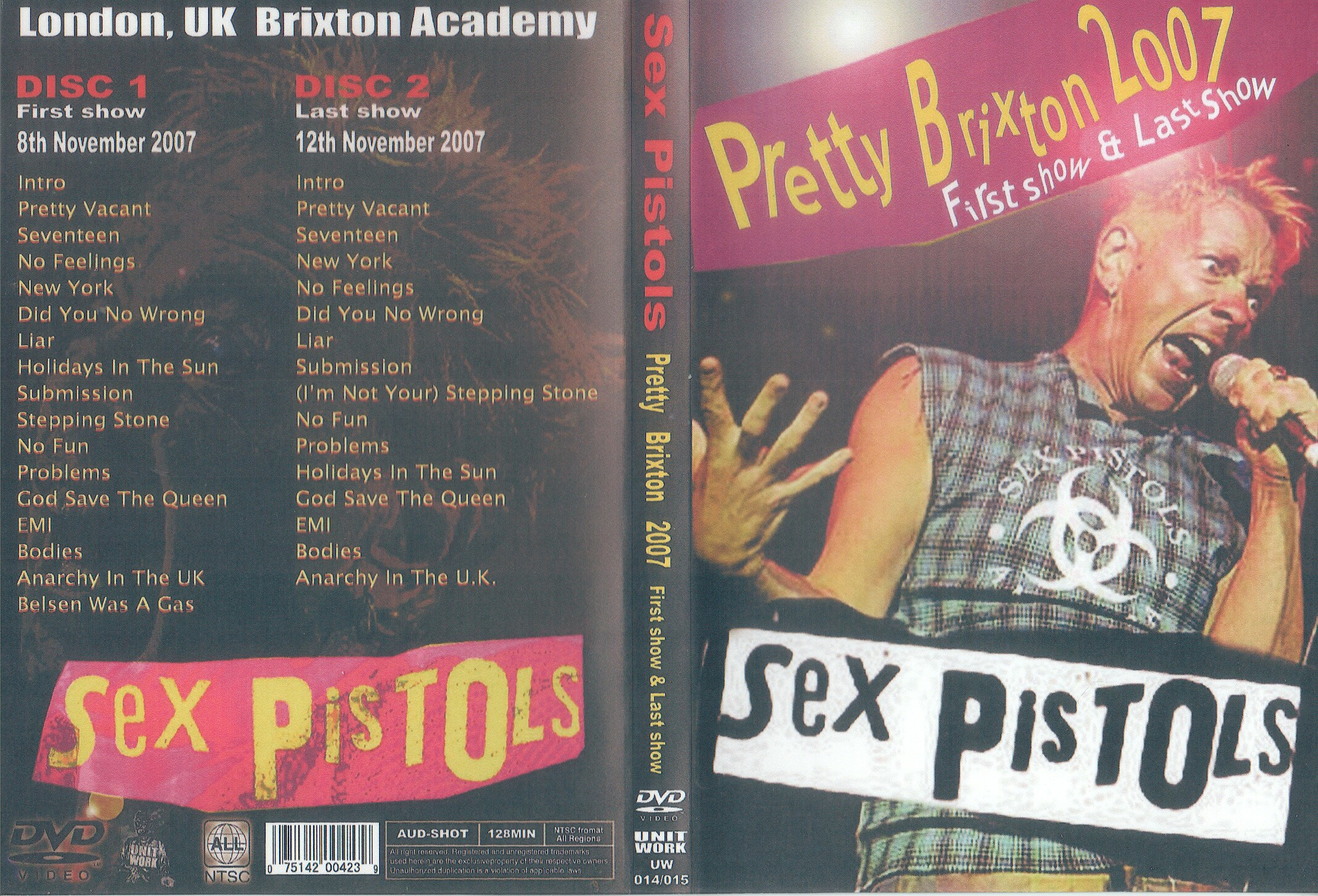 Sex pistols holidays in the remarkable