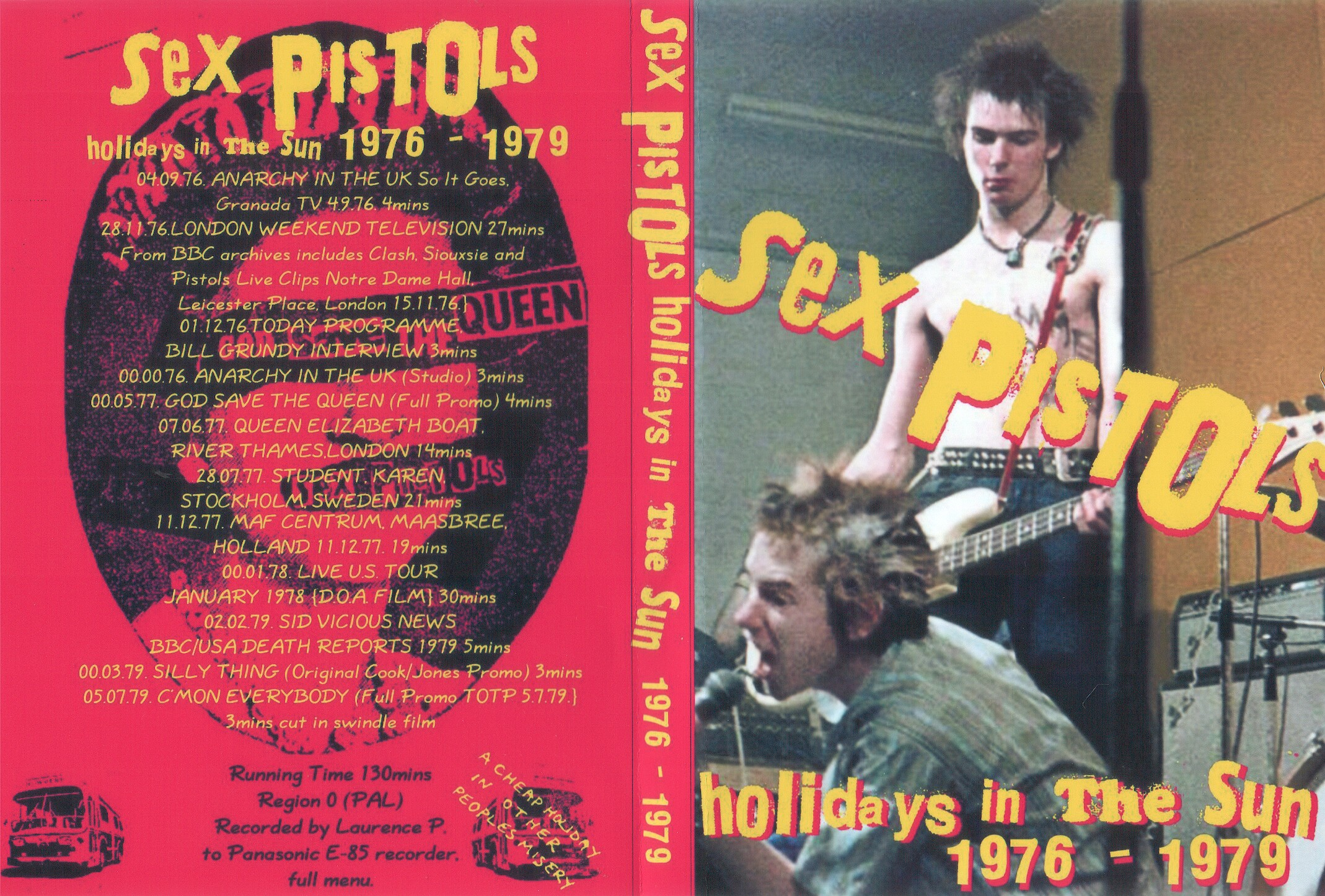 Sex pistols holidays in the advise you