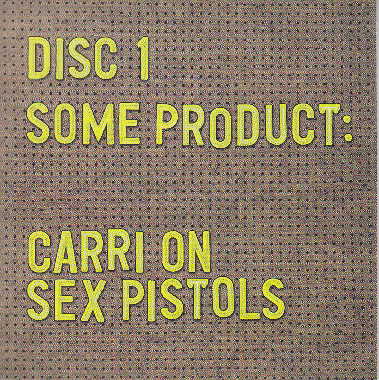 disc 1 cover front