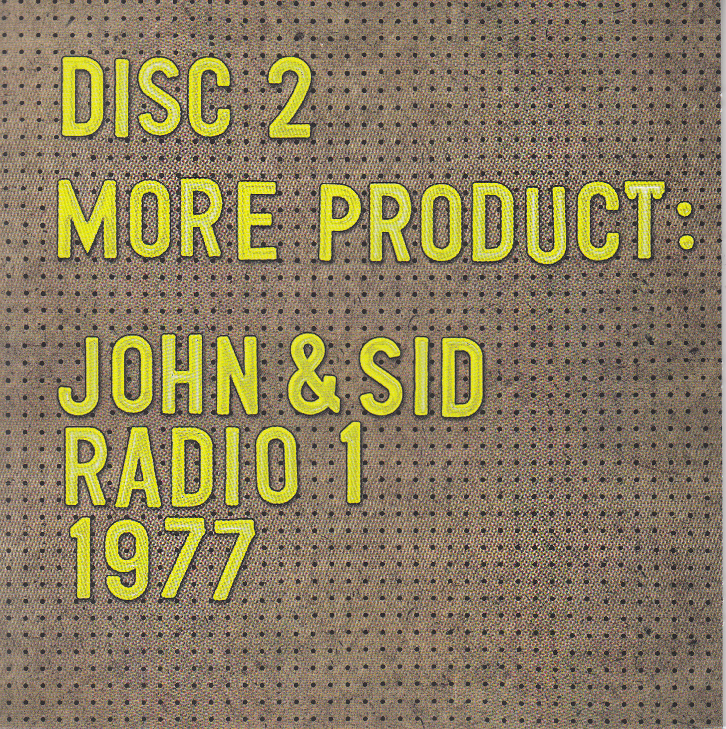 disc 2 cover front